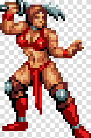 Golden Axe Beast Rider transparent background PNG cliparts free.