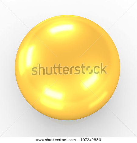 Gold Ball Stock Photos, Royalty.