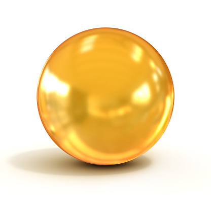 Golden Ball Cliparts.