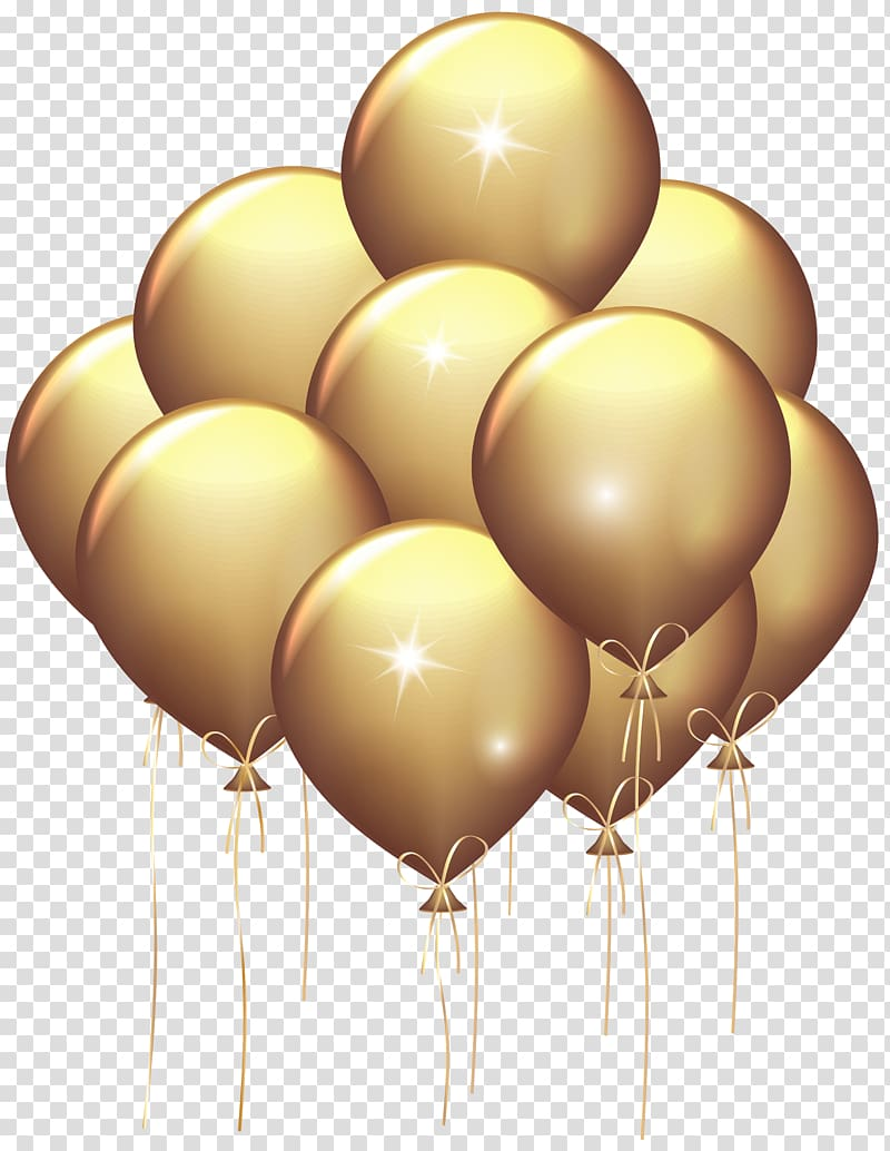 Gold balloon , Gold Balloon , Gold Balloons transparent.