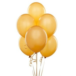 Library of gold balloons vector freeuse download transparent.