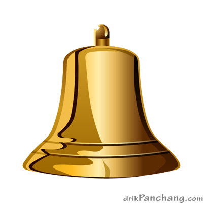 Golden Bell PNG.