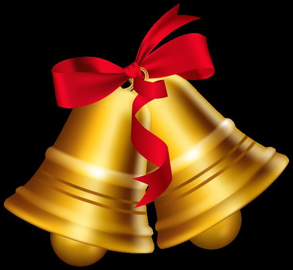 Gold Wedding Bells: Golden Bells Clipart