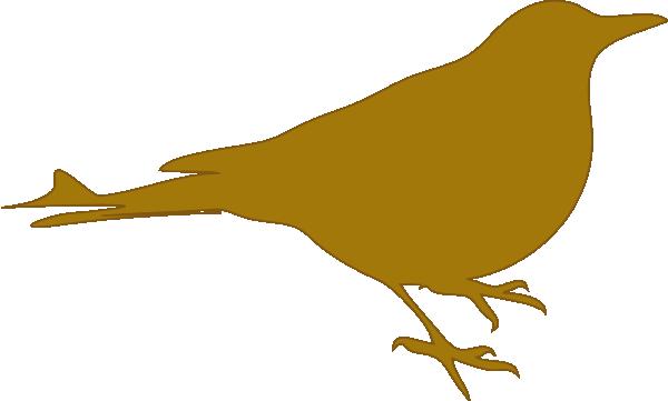 Golden Bird By Bibitebar Clip Art at Clker.com.