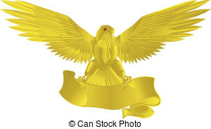 Golden eagle Clipart Vector Graphics. 882 Golden eagle EPS clip.