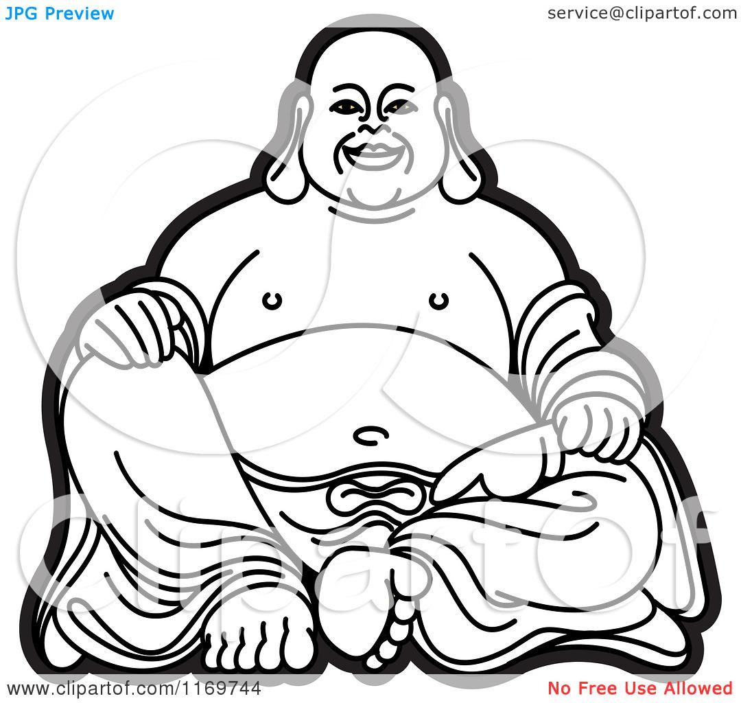 Little buddha clipart.