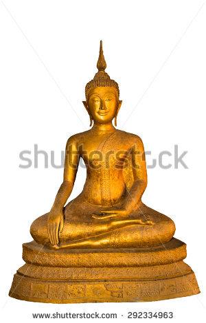 Buddha Statue Bangkok Thailand Stock Photo 112273316.