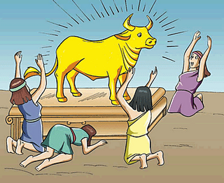 The Bull On Wall Street Is Actually The Hebrew Golden Calf Page 1.