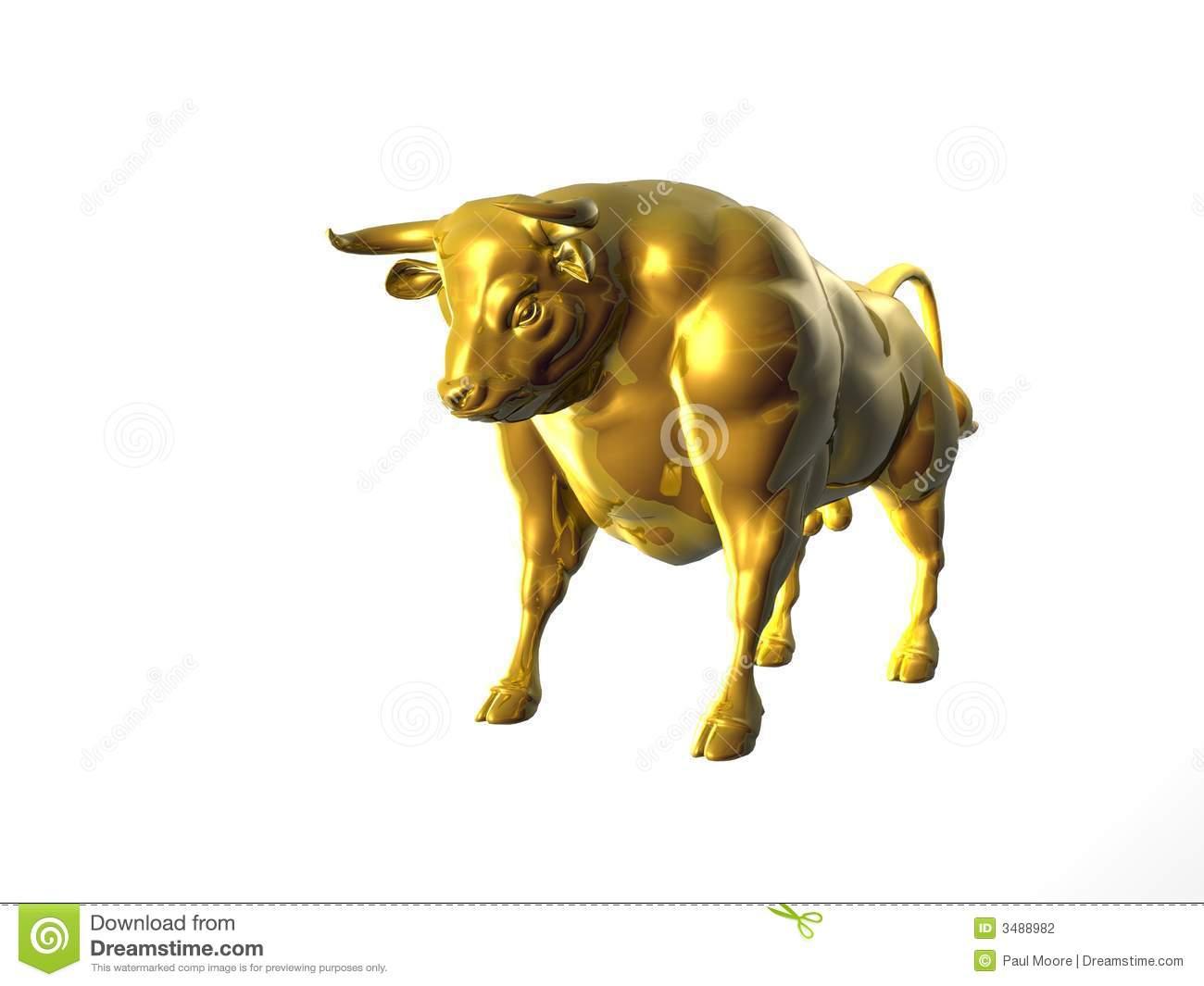 Golden Calf Stock Illustrations.