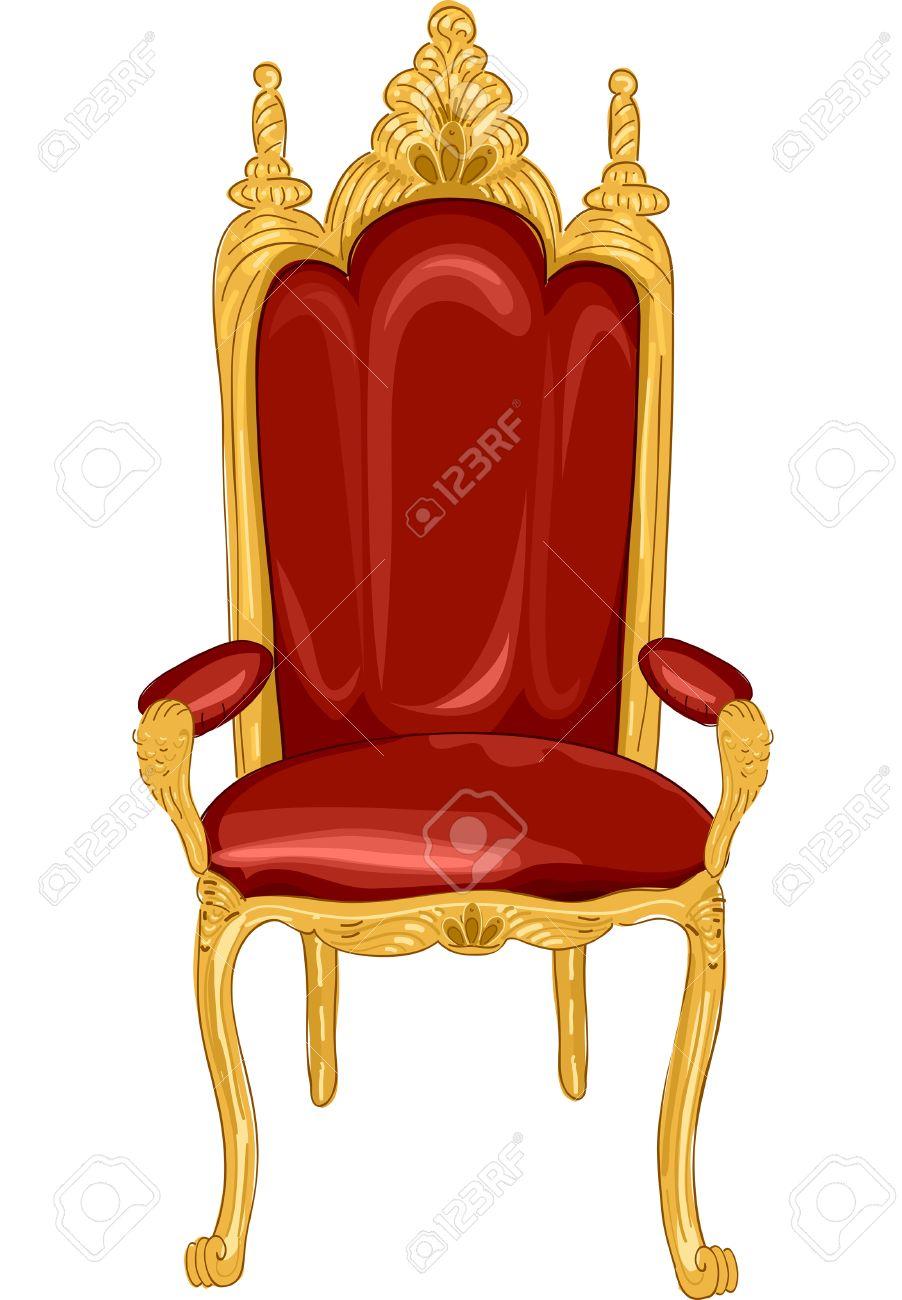 Royal Chair Clipart.