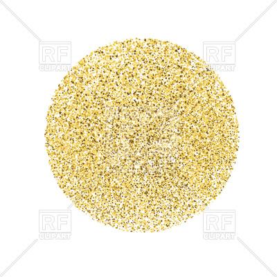 Golden circle Vector Image #110868.