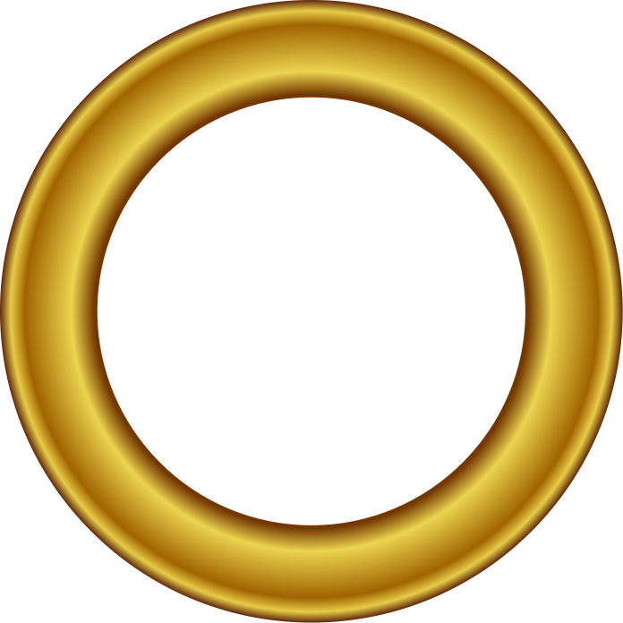 Gold Circle Clipart.