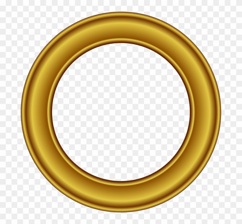 Gold Circle Png Transparent.