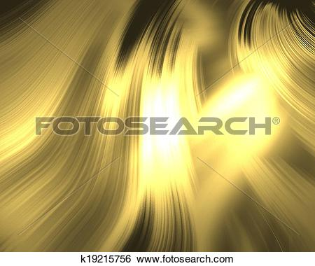 Stock Illustration of abstract gold background luxury cloth.
