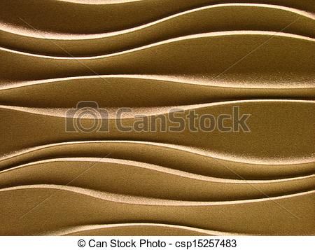 Pictures of Golden wave cloth background csp15257483.