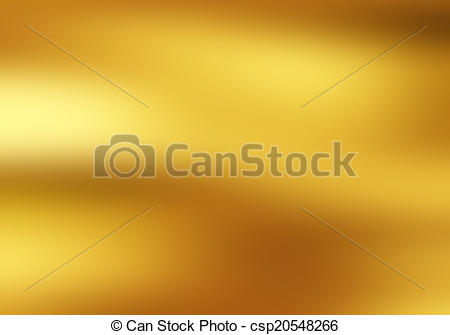 Stock Illustration of Yellow waves background, gold cloth in wind.