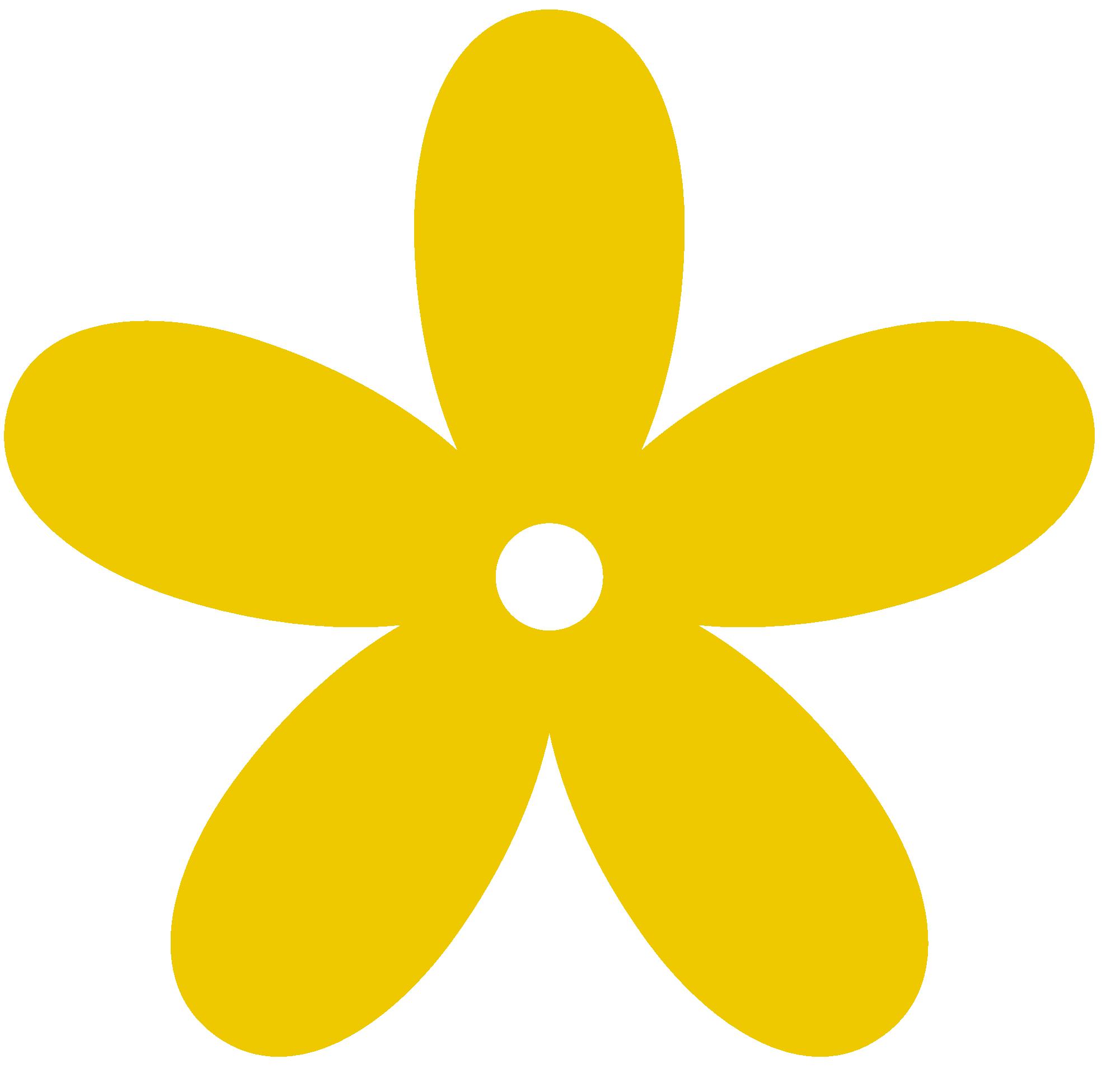 Gold Flower Clipart.
