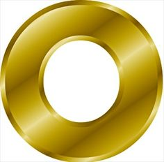 Clipart of the color gold.