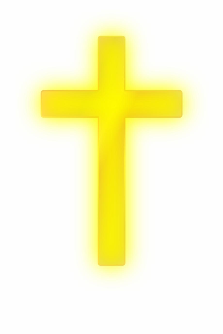 Golden Cross Png.