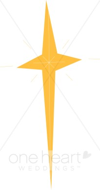 Shining Star Gold Cross.