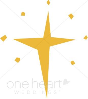 Clipart cross star.