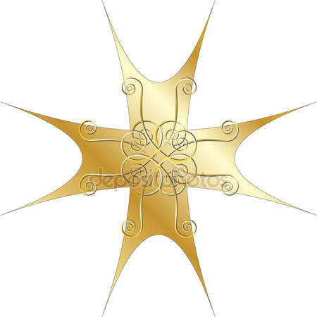 Gold cross clipart Stock Vectors, Royalty Free Gold cross clipart.