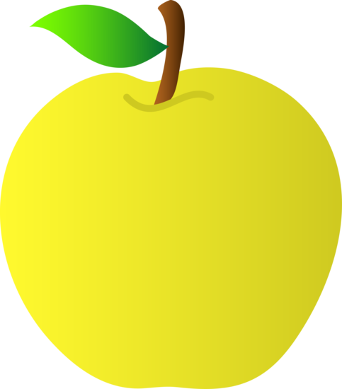 Delicious apple clipart.
