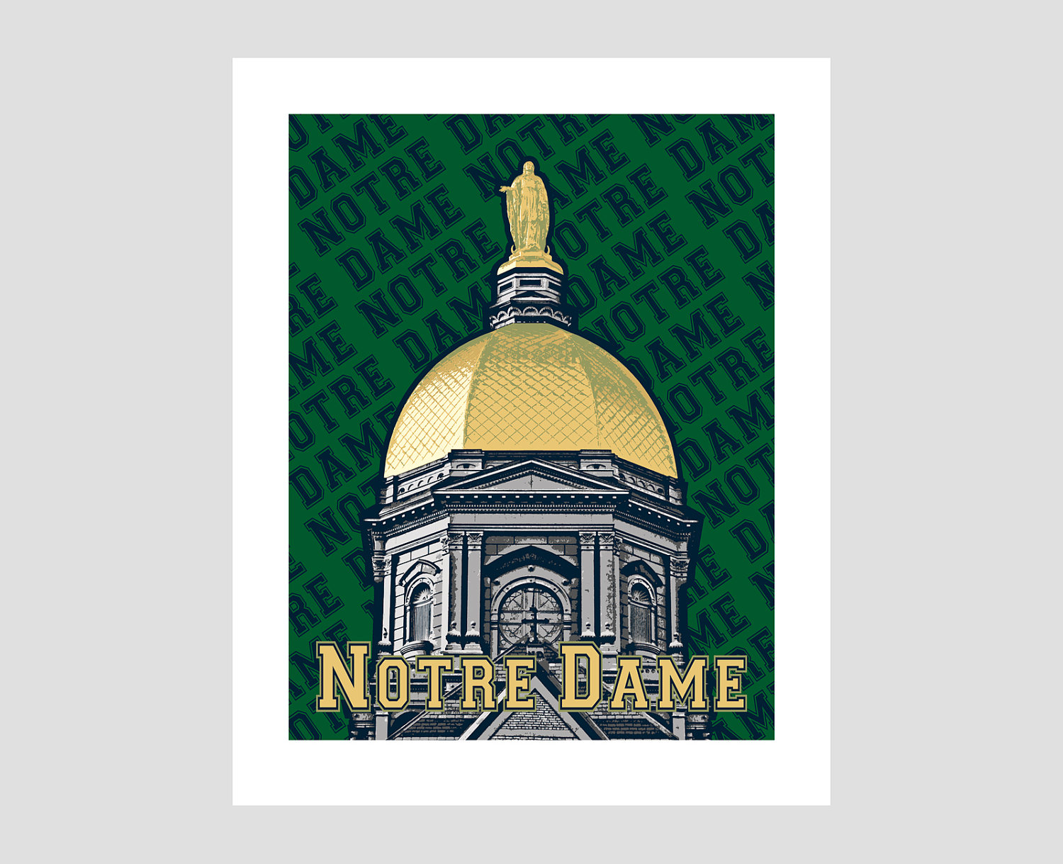 University Of Notre Dame Clip Art.