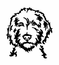 Free Goldendoodle Silhouette, Download Free Clip Art, Free.
