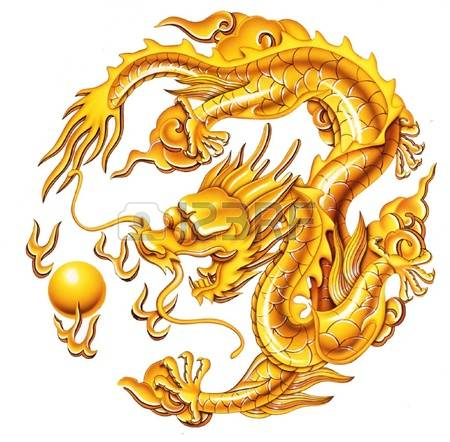 1,333 Golden Dragon Cliparts, Stock Vector And Royalty Free Golden.