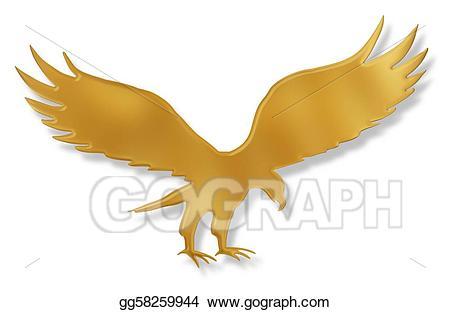 Golden eagle clipart 1 » Clipart Station.