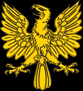 Golden eagle clip art.
