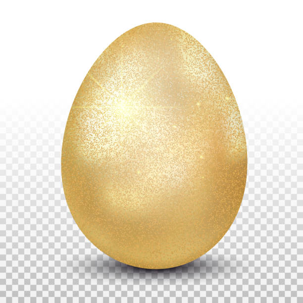 Best Golden Egg Illustrations, Royalty.