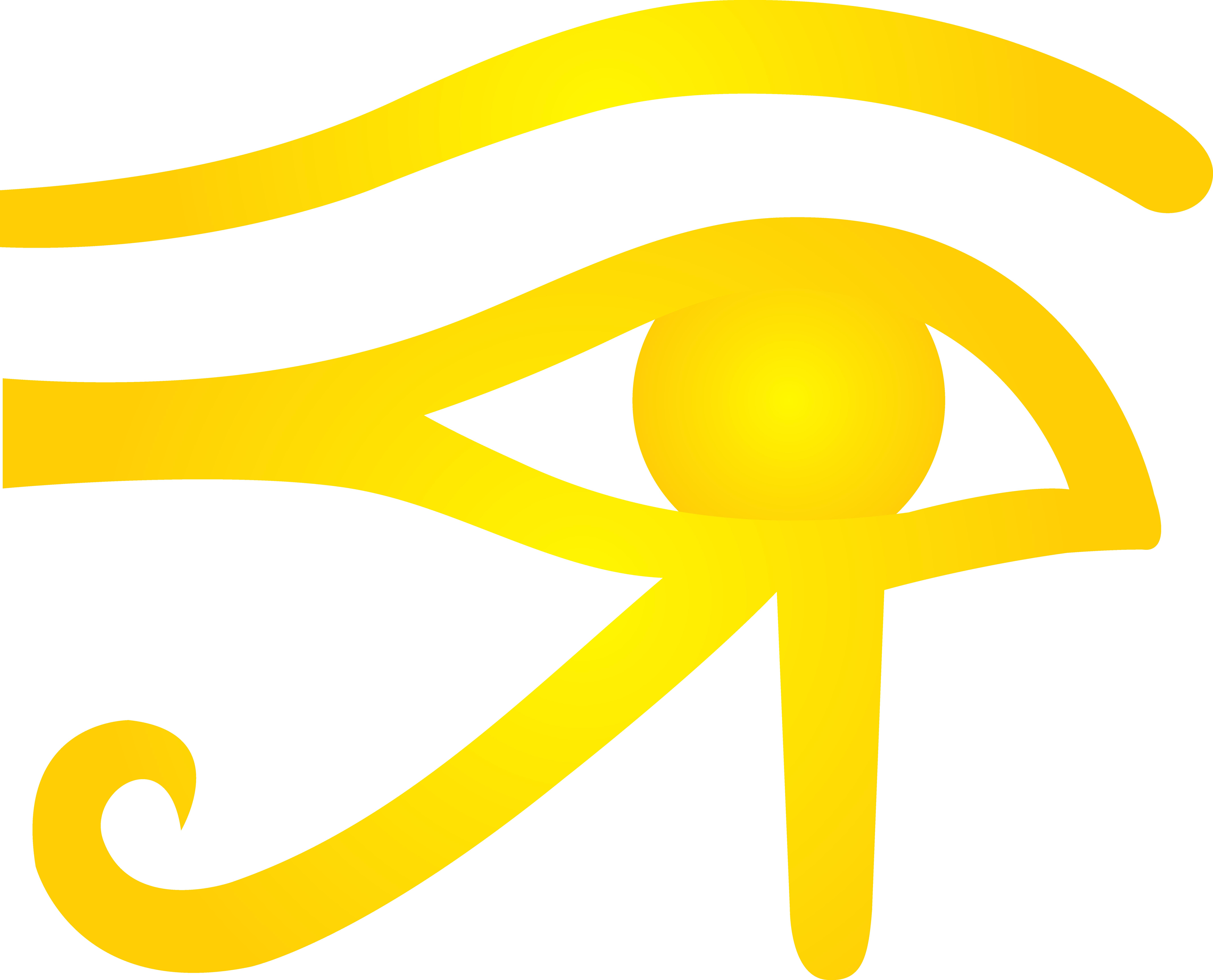 Golden eye clipart.