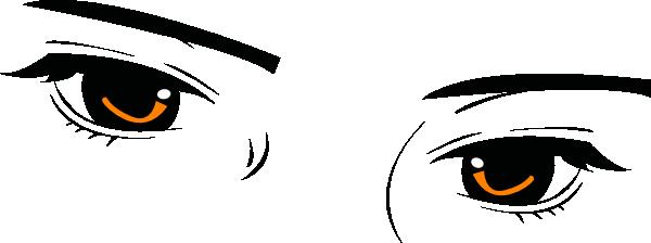 Modified Golden Eyes Clip Art at Clker.com.