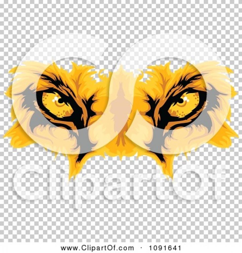 Eye clipart golden.