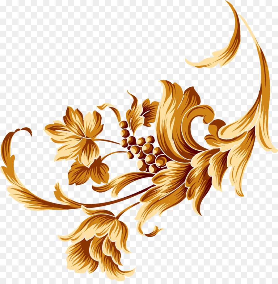 Gold Pattern Background clipart.