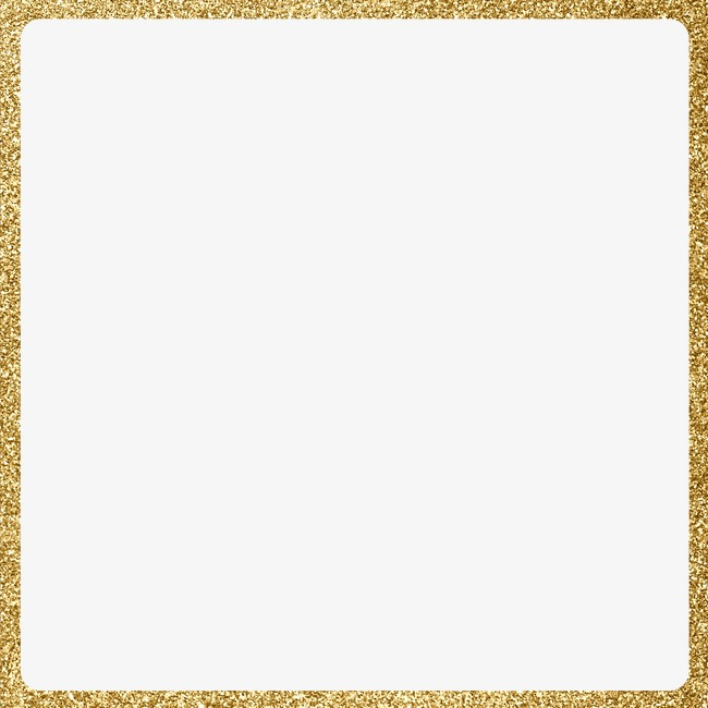Creative Golden Frame, Gold Frame, Creat #22433.