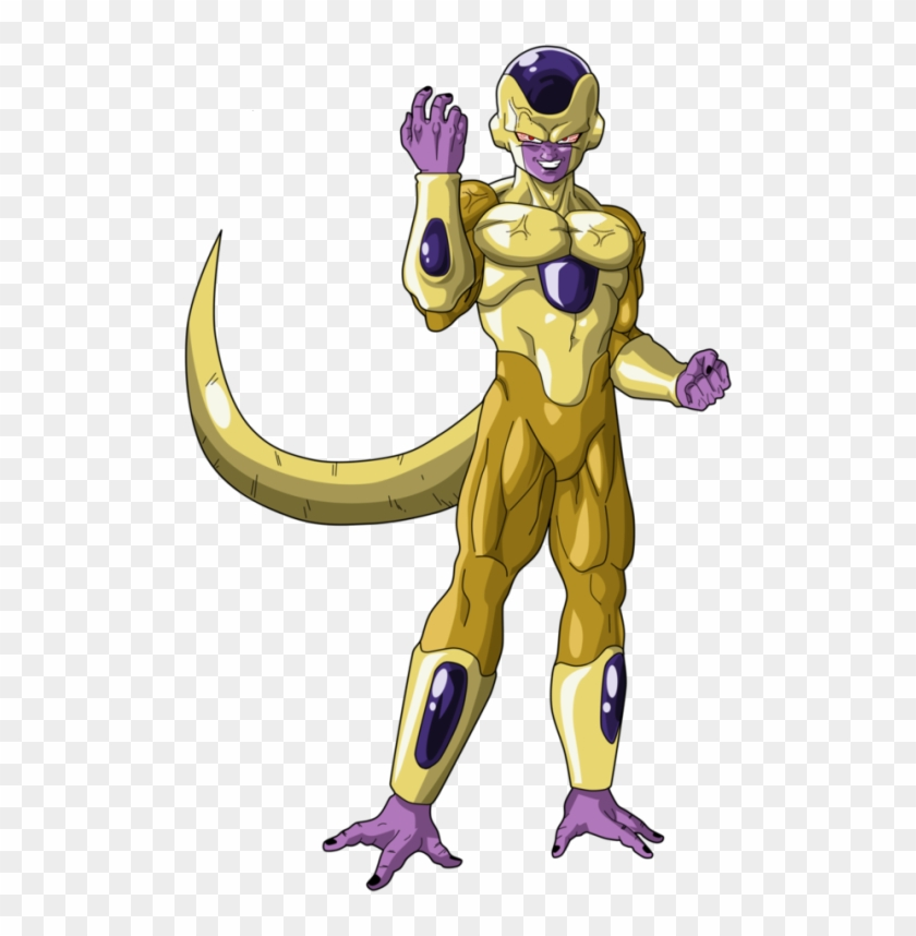 Golden Freeza Png.
