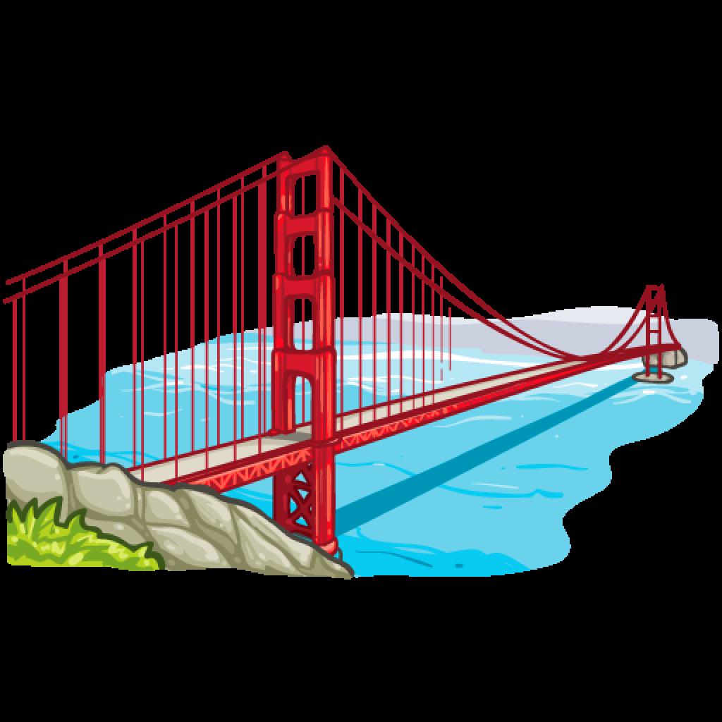 Golden Gate Bridge Clipart.