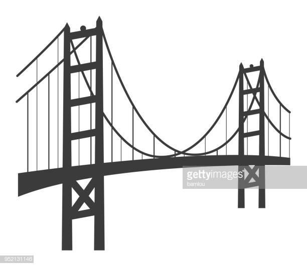 60 Top Golden Gate Bridge Stock Illustrations, Clip art, Cartoons.