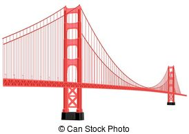 Golden gate bridge Clipart Vector Graphics. 417 Golden gate bridge.