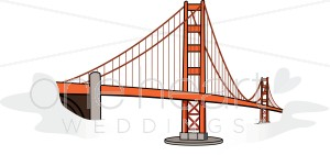 Golden Gate Bridge Clipart.
