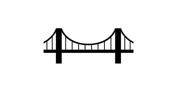 Golden Gate Bridge Simple Suspension Bridge PNG, Clipart.