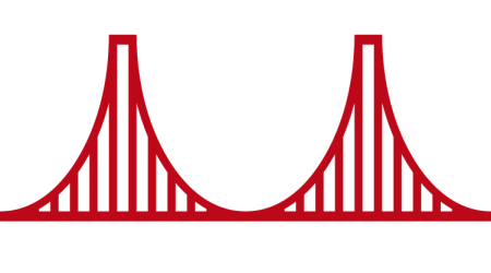 How Cisco\'s Golden Gate Bridge logo changed over the years.