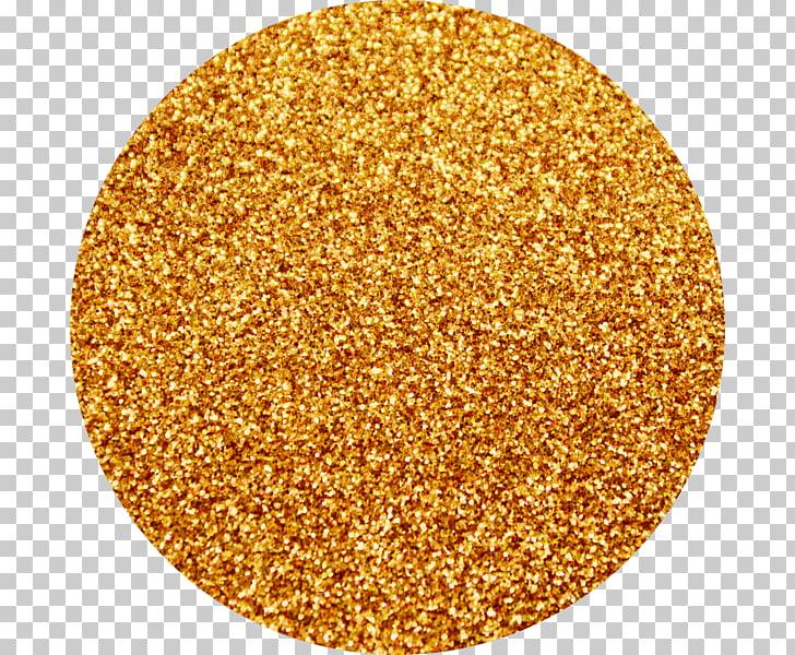 Glitter Orange Gold Yellow Color, golden glitter PNG clipart.
