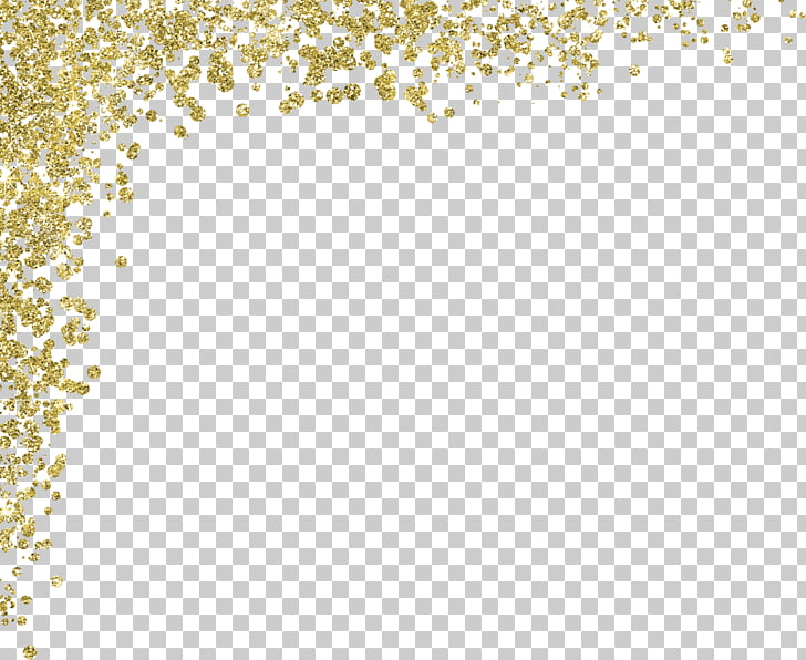 Gold Glitter Material, gold PNG clipart.