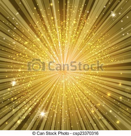Vector Clip Art of golden glow.