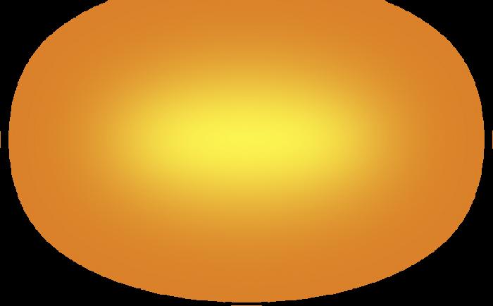 Golden Glow Png Vector, Clipart, PSD.