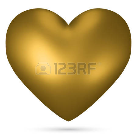 14,457 Golden Heart Stock Illustrations, Cliparts And Royalty Free.